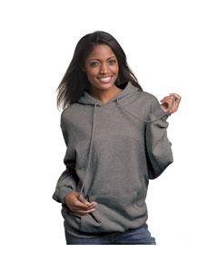 Bayside BA960 - Adult Pullover Hooded Sweatshirt