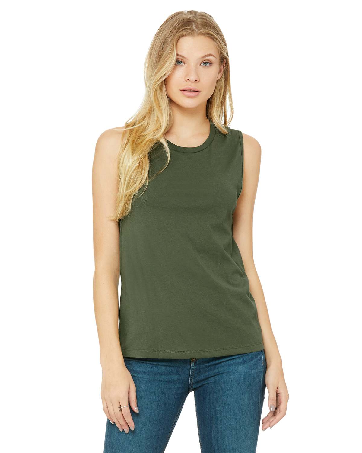Bella+Canvas 6003 - Women's Jersey Muscle Tank