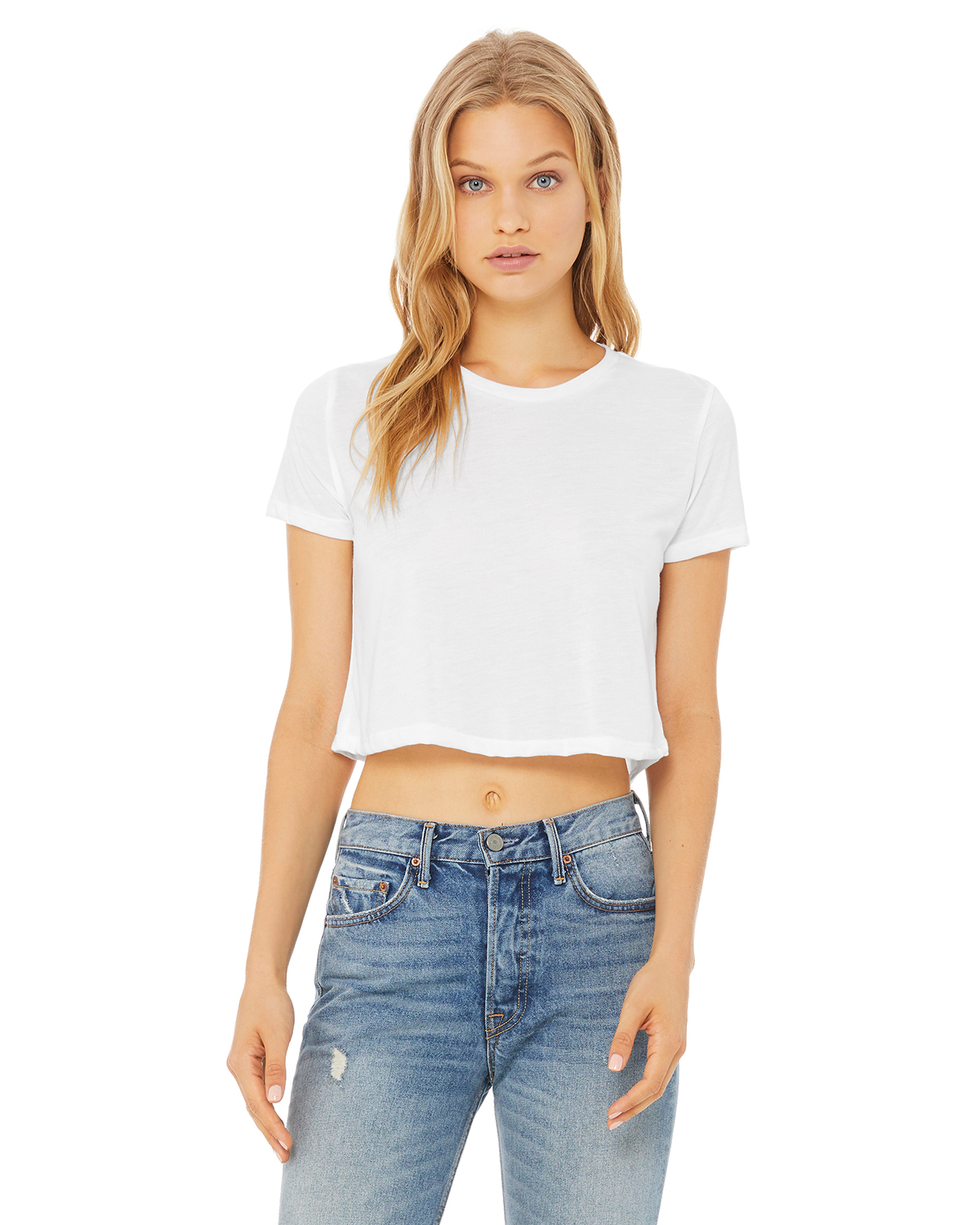 Bella + Canvas 8882 - Women's Flowy Cropped Tee