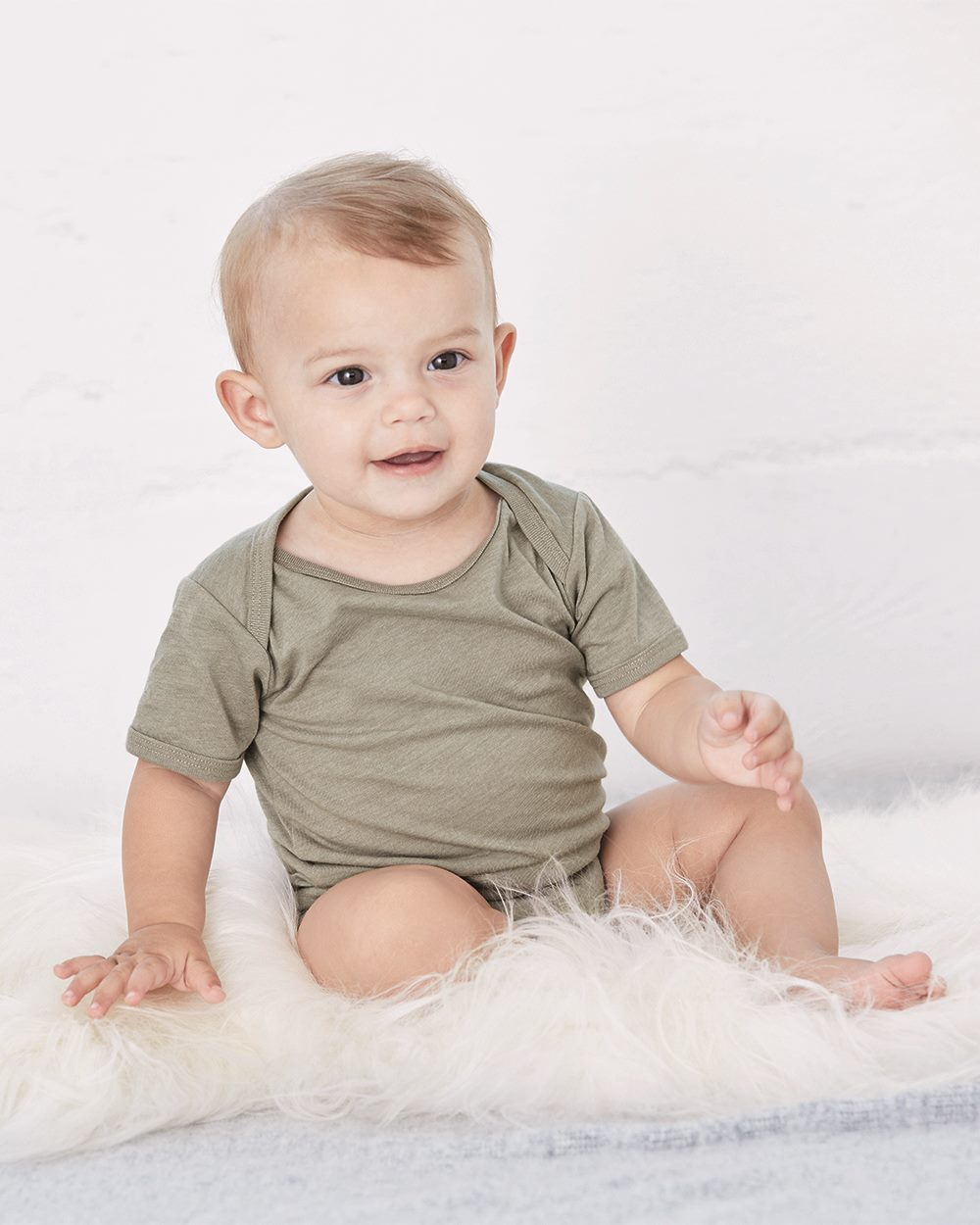 Bella + Canvas 100B - Baby Short Sleeve Onesie