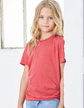 Bella + Canvas 3413Y - Youth Triblend Jersey Short Sleeve ...