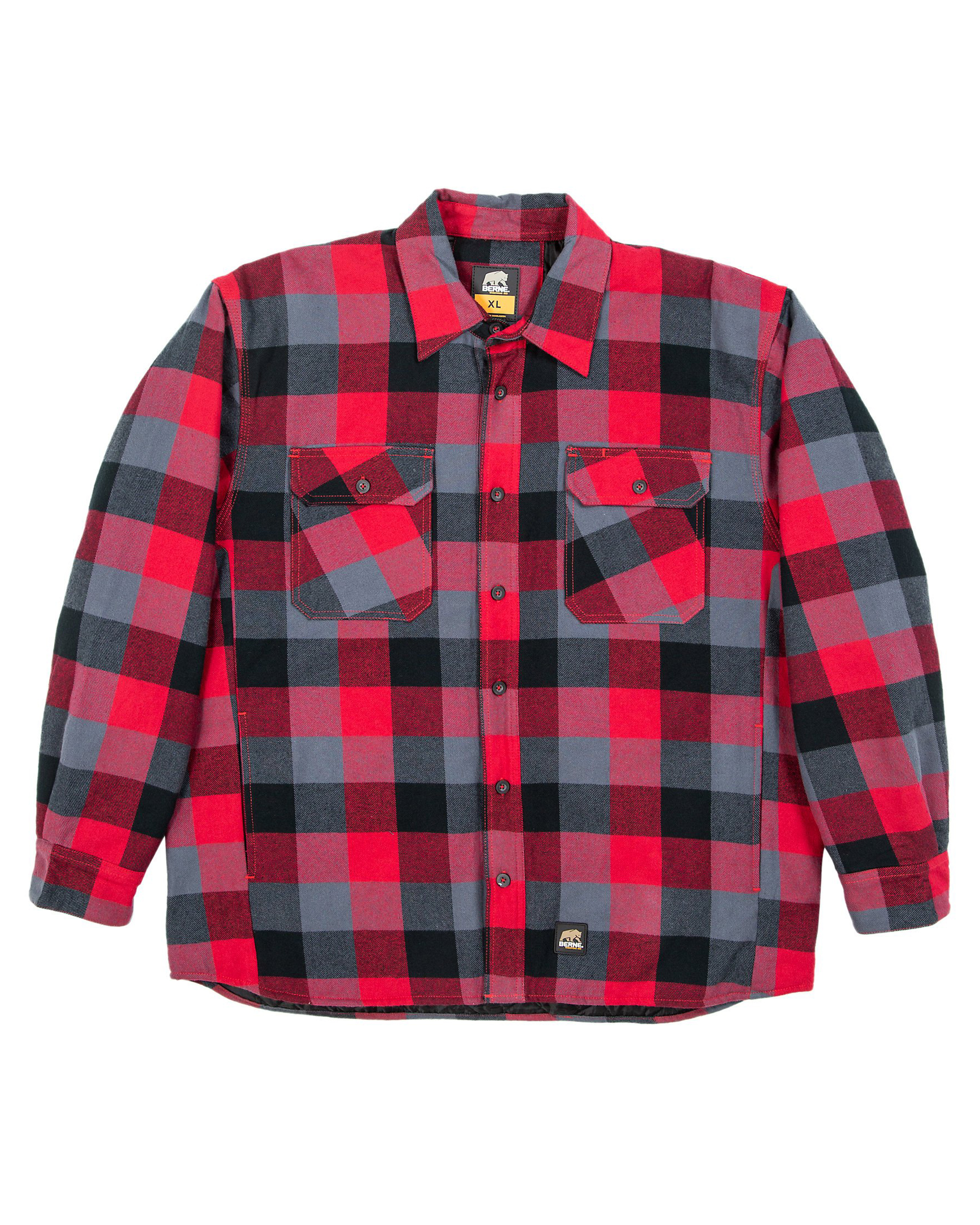 Berne Workwear SH69 - Timber Flannel Shirt Jacket