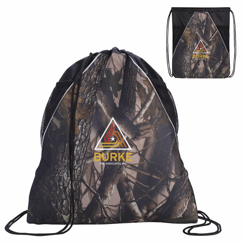 BIC Graphic 15867 Camouflage Drawstring Backpack