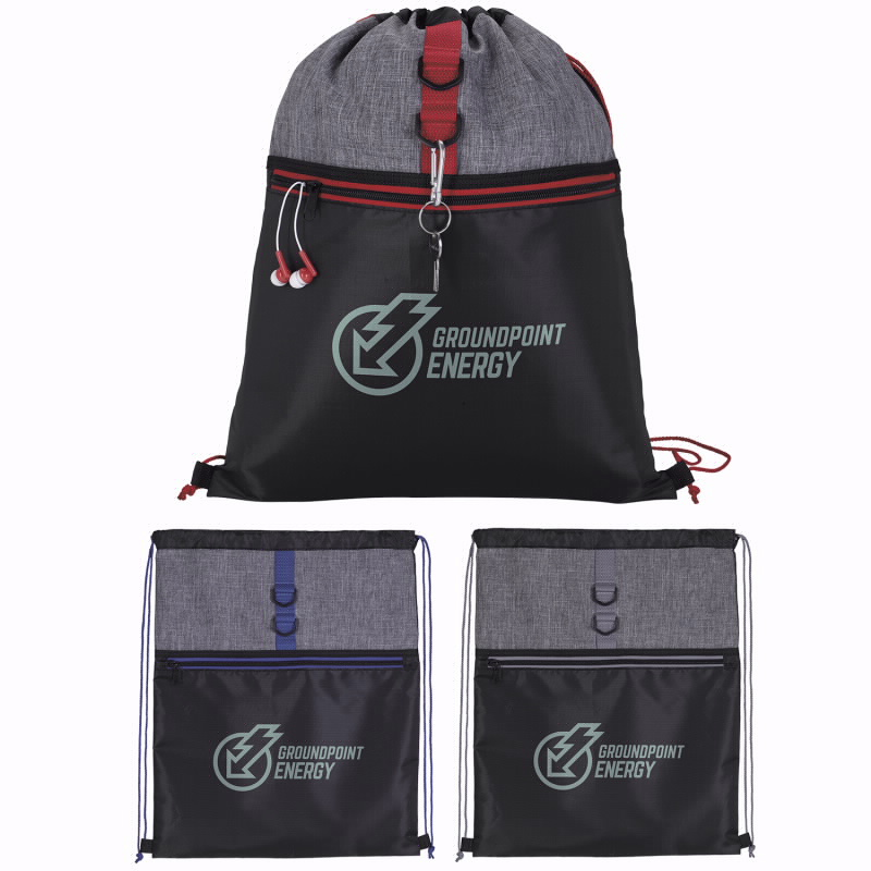 BIC Graphic 15967 Stand Alone Drawstring Backpack