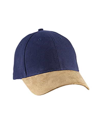 Big Accessories BA555 - Suede Bill Cap