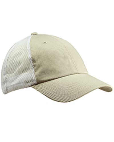 Big Accessories BA601 - Washed Trucker Cap