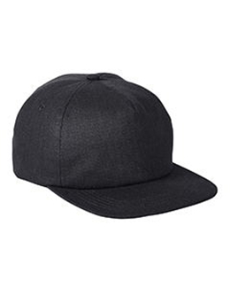 Big Accessories BA615 - Squatty Herringbone Cap