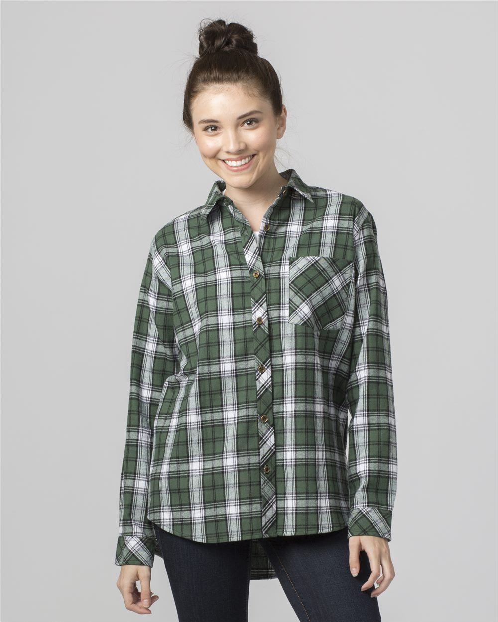 Boxercraft F50 - Women's Flannel Shirt