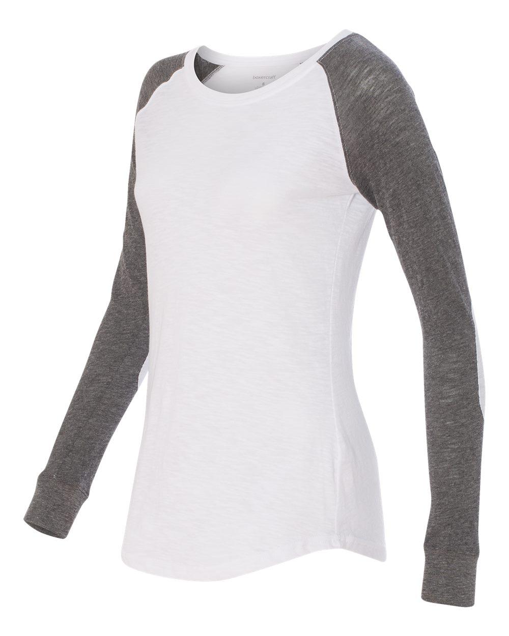 Boxercraft T66 - Women's Preppy Patch Slub T-Shirt