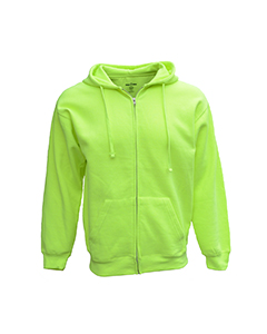 Bright Sport B501 - Adult Full-Zip Fleece Hood