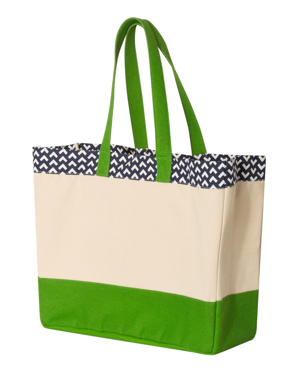 Brookson Bay BB300 - Patterned Top Beach Tote