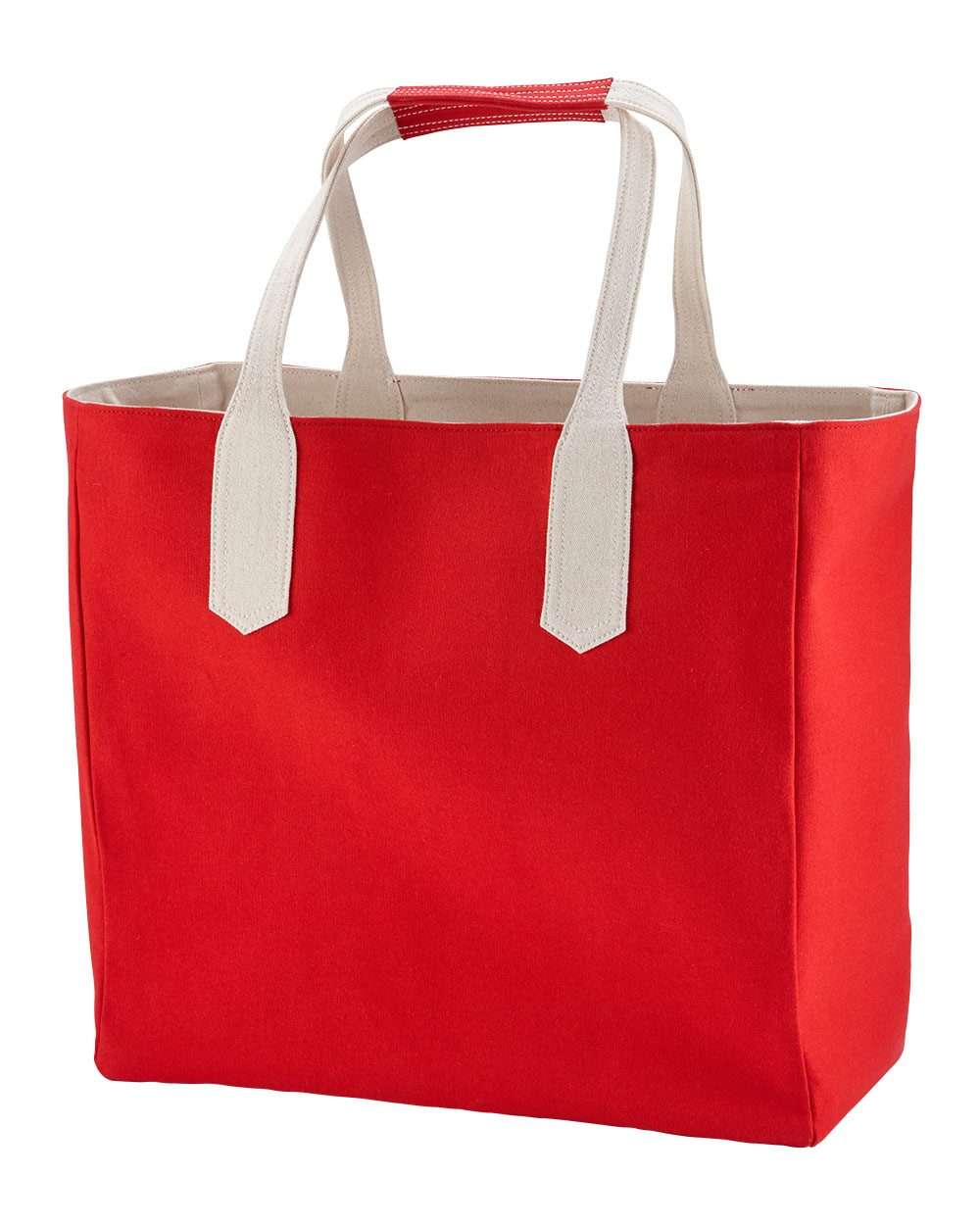 Brookson Bay BB500 - Solid Tote with Contrast Handles