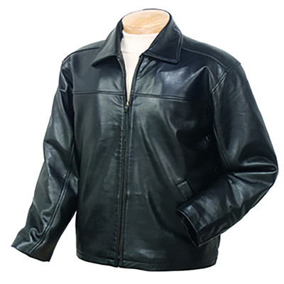 Burk's Bay BB802 - Unisex Lambskin Driving Full Zip Jacket