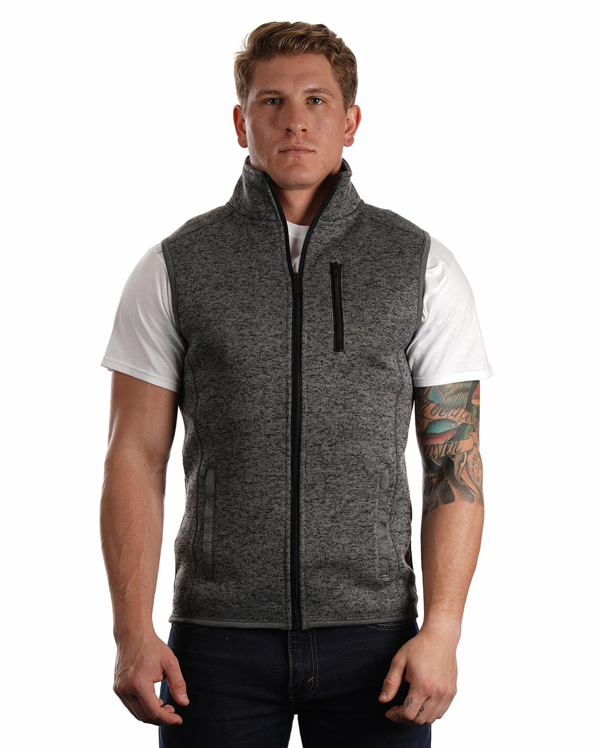 Burnside® 3910 - Sweater Fleece Vest