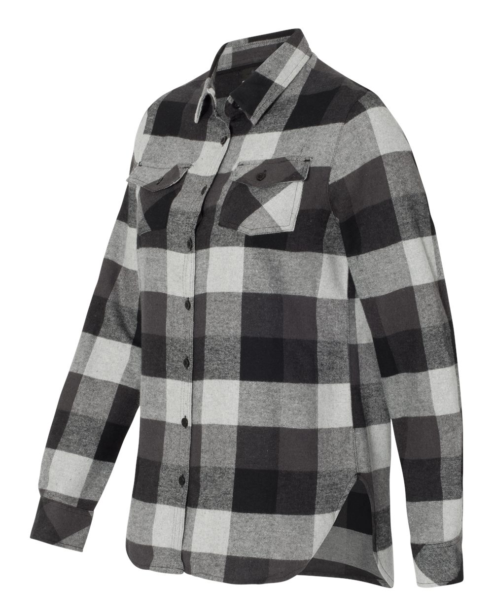 Burnside 5210 - Women's Yarn-Dyed Long Sleeve Flannel ...