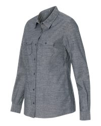Burnside B5255 - Women's Long Sleeve Chambray