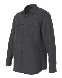 Burnside B8200 - Solid Long Sleeve Flannel Shirt