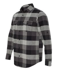 Burnside B8210 - Yarn Dyed Long Sleeve Flannel Shirt
