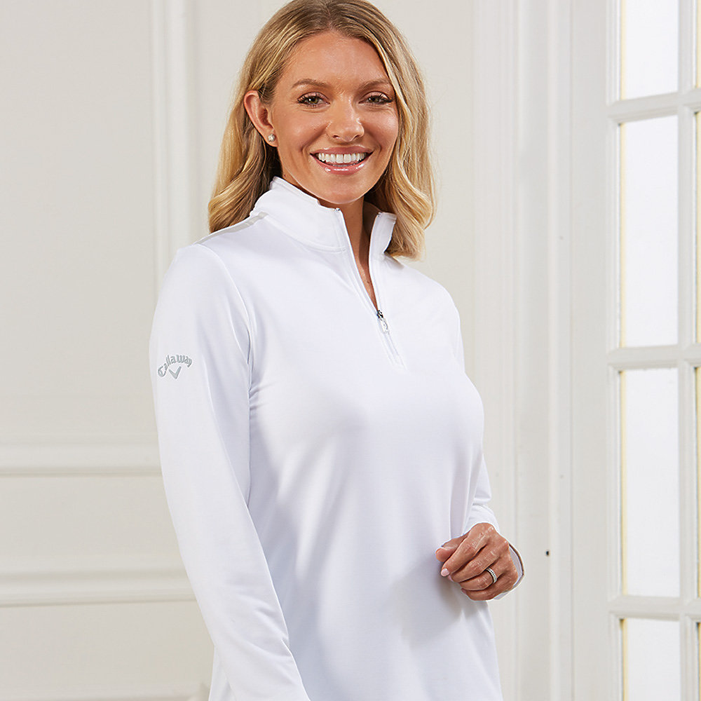 Callaway CGW509 - Ladies' 1/4 Zip Mock Pullover