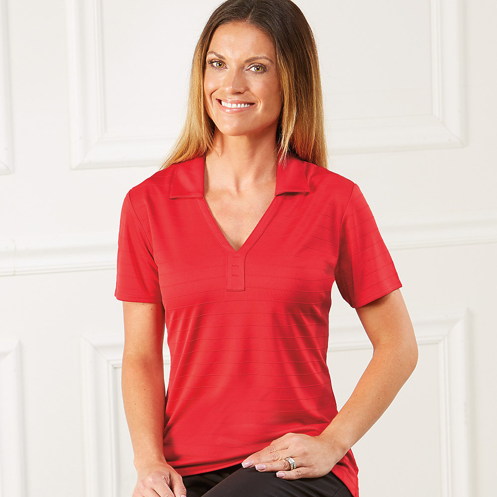 Callaway CGW565 - Ladies' Raised Ottoman Polo