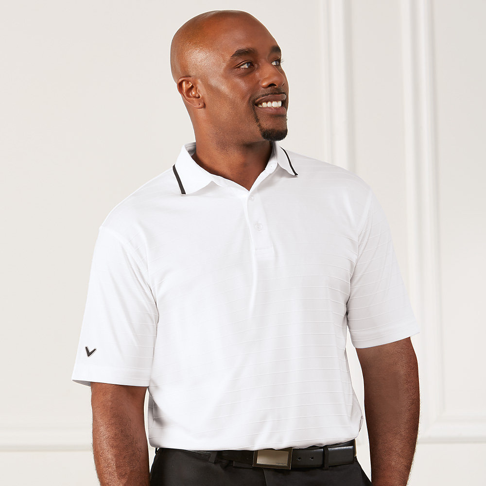 Callaway CGM560 - Men's Raised Ottoman Polo