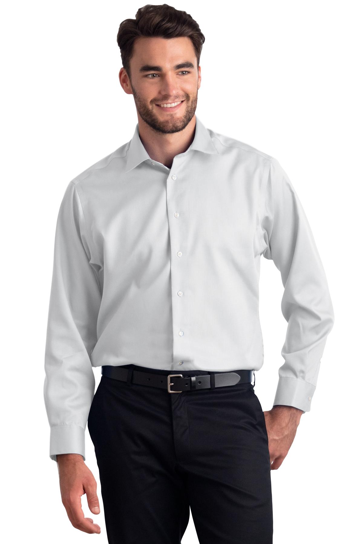 Calvin Klein CALV0029 - Men's Non-Iron Dobby Shirt