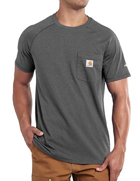 Carhartt 100410 - Force Cotton Blend Pocket Tee