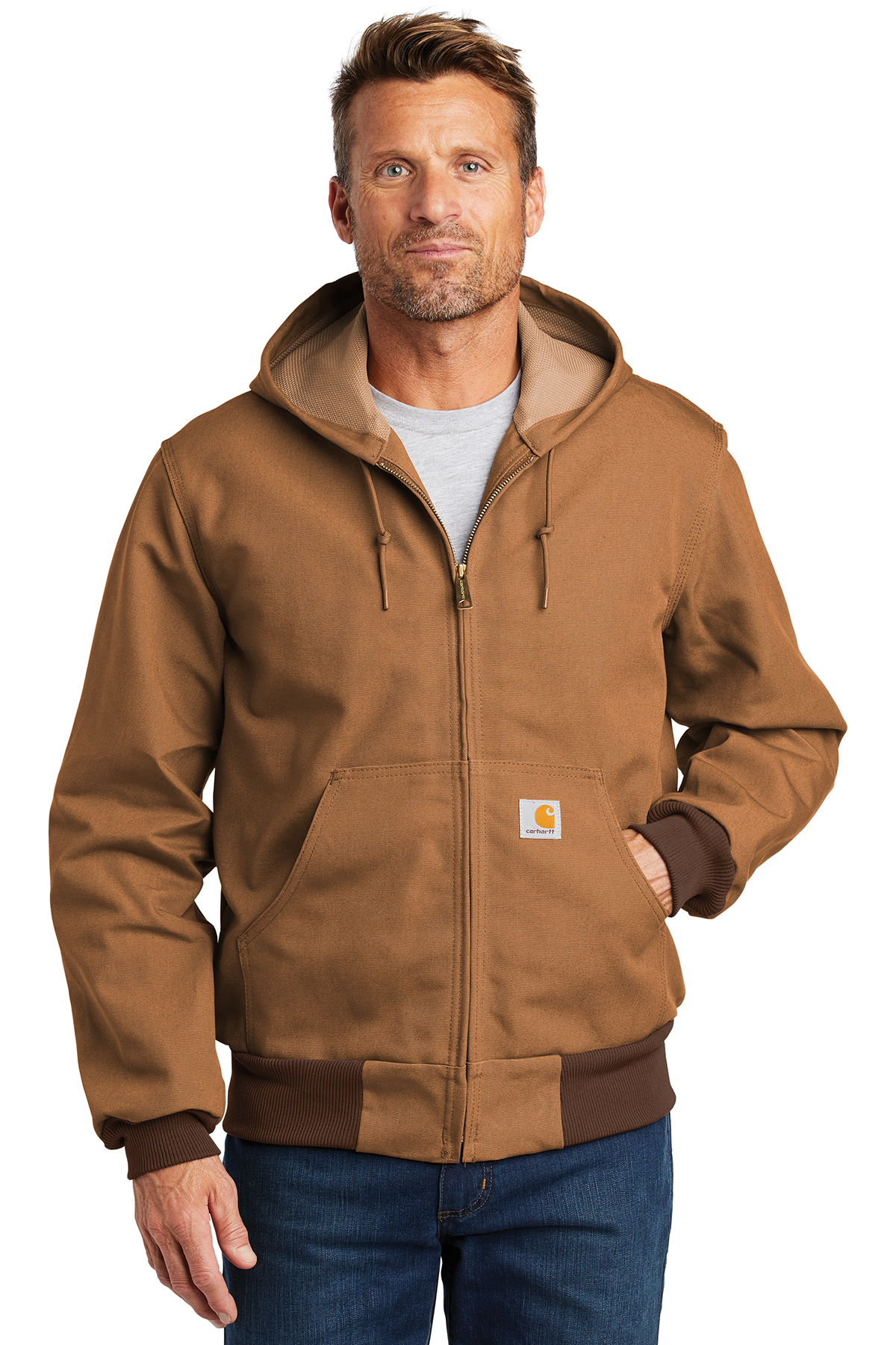 Carhartt® CTJ131 - Thermal-Lined Duck Active Jacket