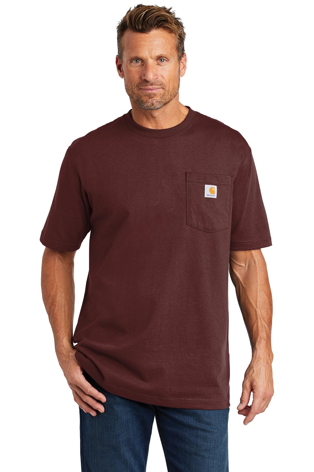 Carhartt® CTK87 - Workwear Pocket Short Sleeve ...