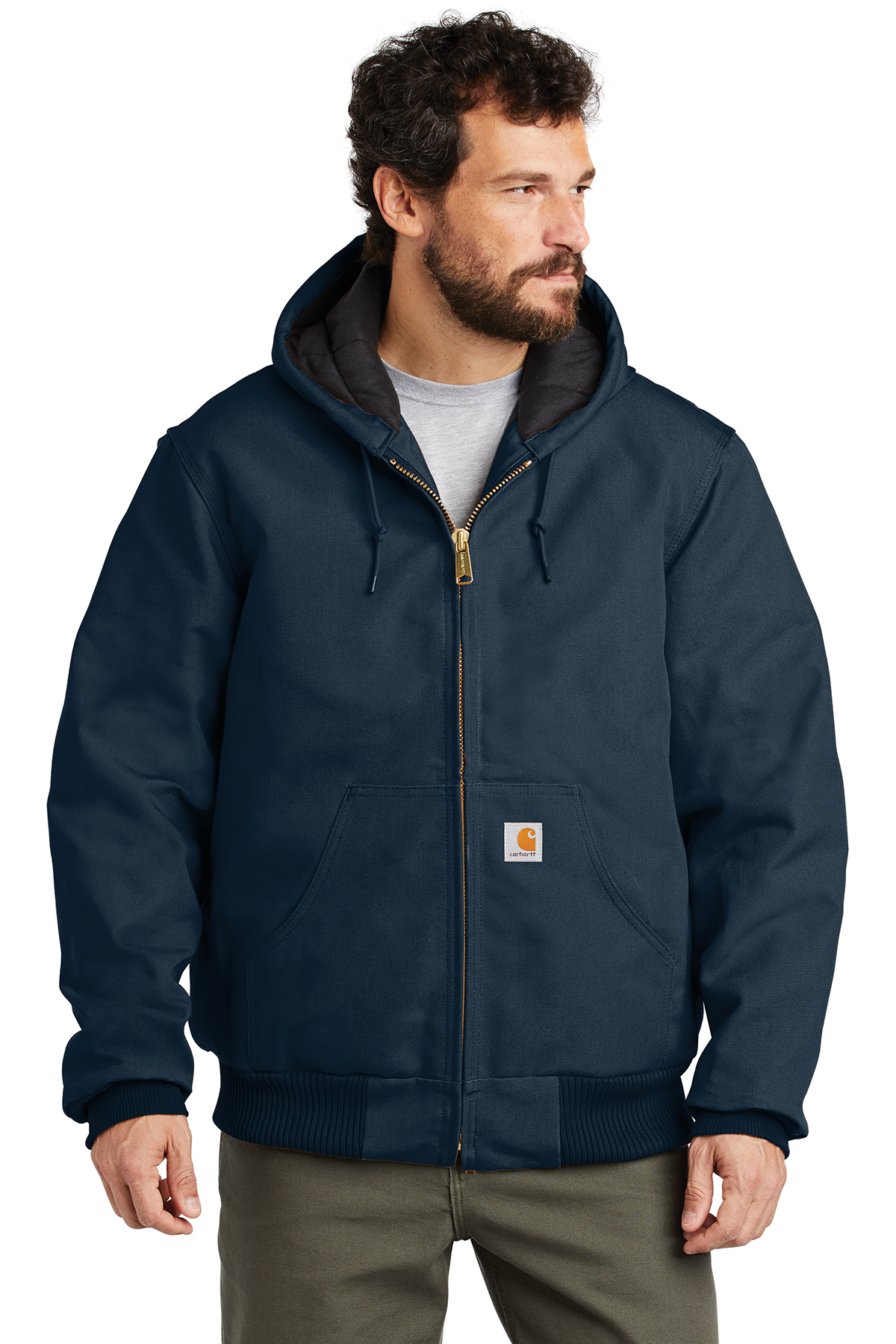 Carhartt® CTSJ140 - Quilted-Flannel-Lined Duck Active Jacket