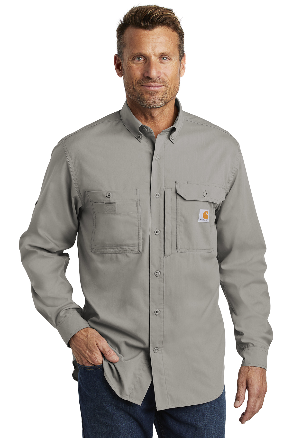 Carhartt Force® CT102418 - Ridgefield Solid Long ...