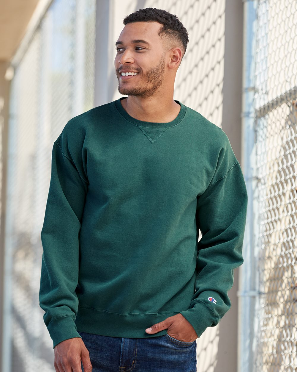 Champion CD400 - Garment Dyed Crewneck Sweatshirt