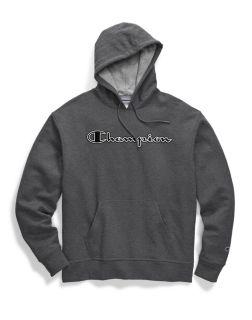 Champion GF89H-CS - Men's Powerblend® Fleece Pullover ...