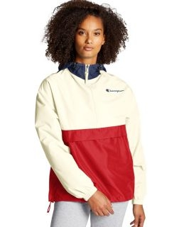 Champion J1016 - Packable Colorblocked Jacket with Logo