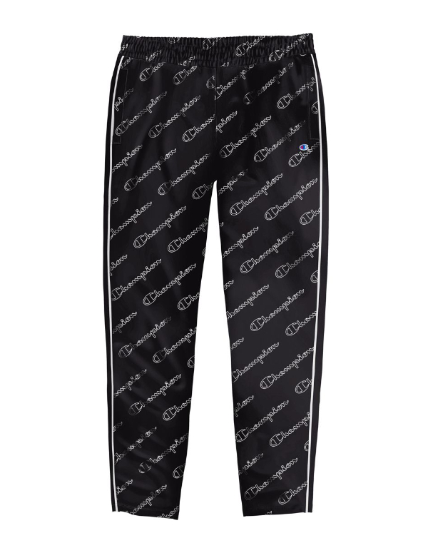 Champion M4353P - Women's Track Pants - Allover Logo
