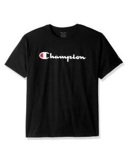 Champion OT435A-S - Boys Jersey Tee - Script Logo
