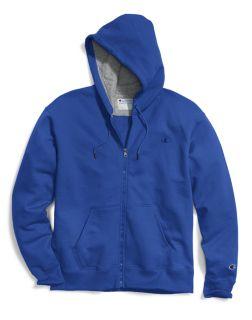 Champion S0891 - Men's Powerblend® Fleece Full Zip ...