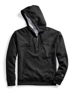 Champion S0892 - Men's Powerblend® Fleece Quarter Zip Hoodie