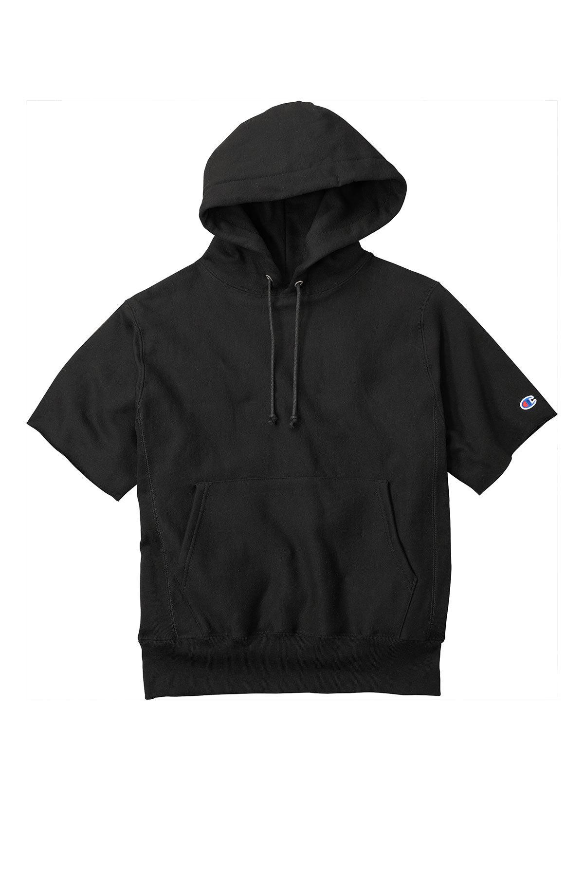 Champion S101SS - Reverse Weave Short Sleeve Hooded Sweatshirt