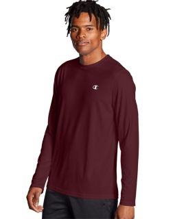 Champion T0026 - Men's Double Dry® Core Long-Sleeve ...