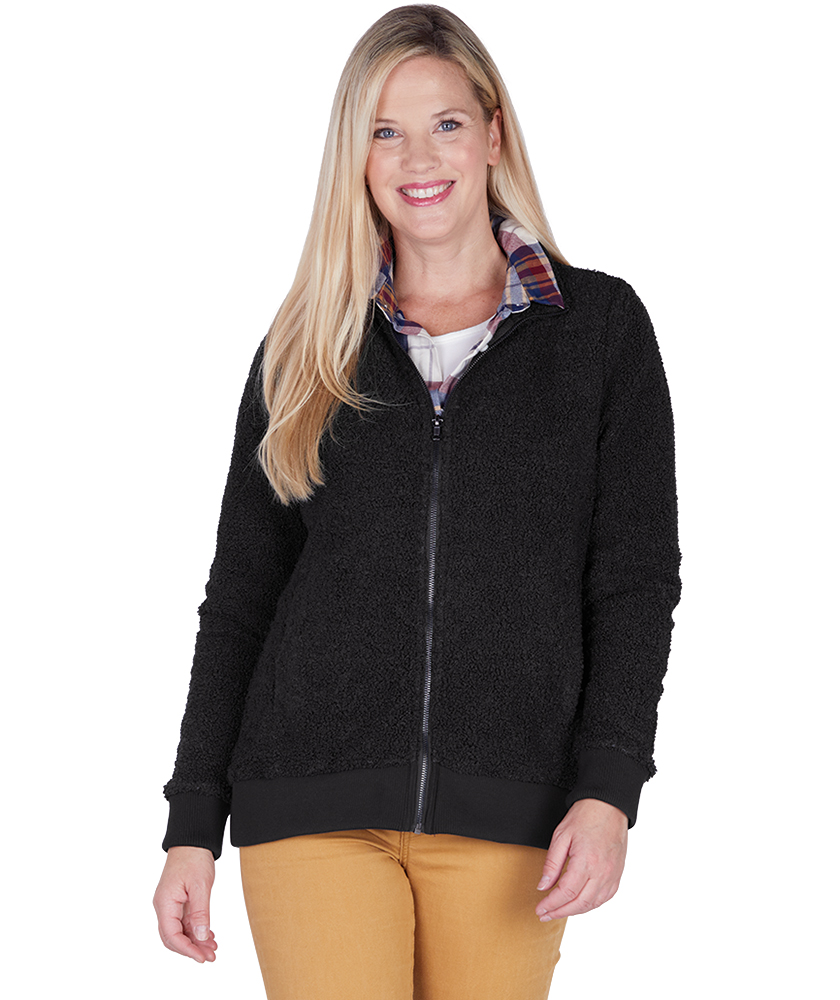 Charles River 5133 - Women's Sherpa Full Zip