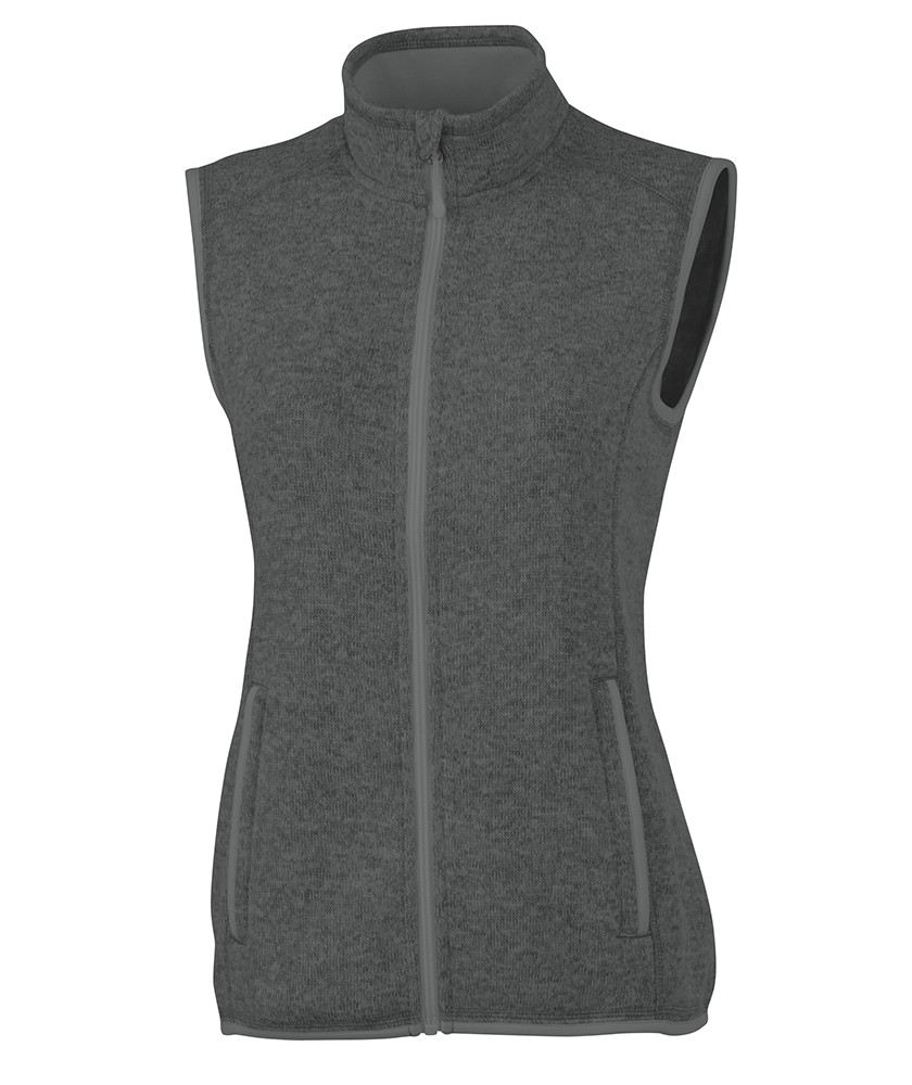 Charles River 5722 - Women's Pacific Heathered Vest