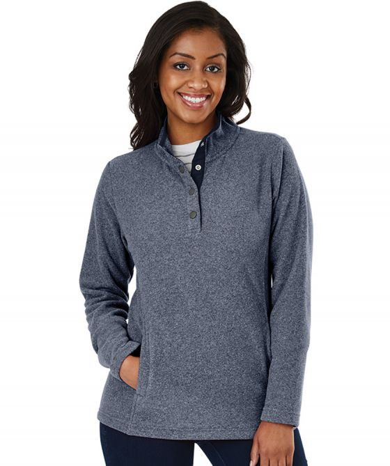Charles River 5825 - Women's Bayview Fleece Pullover