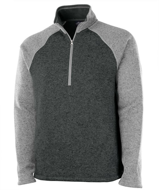 Charles River 9014 - Men's Quarter Zip Color Blocked ...