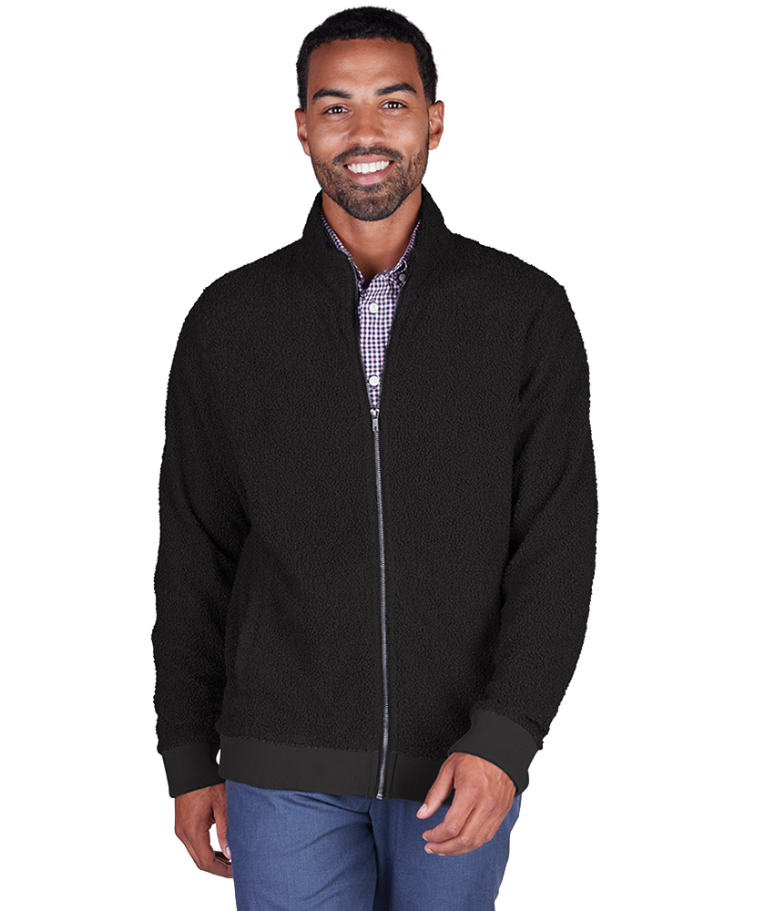 Charles River 9133 - Men's Sherpa Full Zip