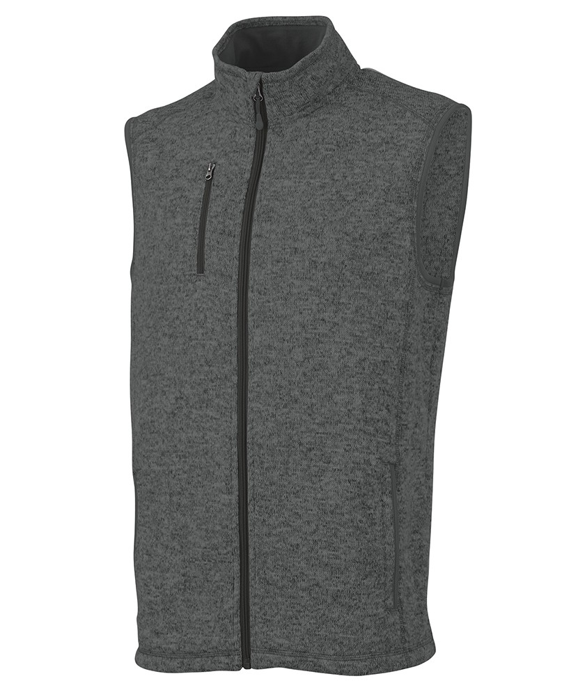 Charles River 9722 - Men's Pacific Heathered Vest