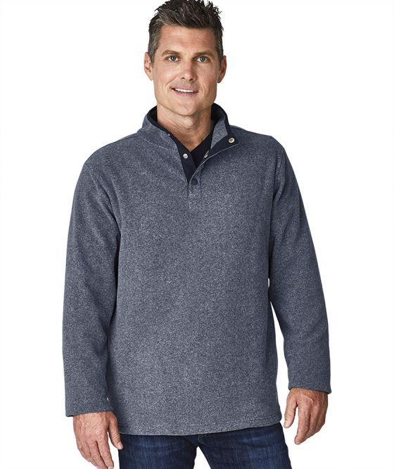 Charles River 9825 - Men's Bayview Fleece Pullover