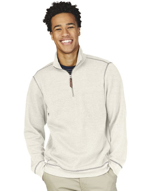 Charles River 9910 - Men's Conway Flatback Bib Pullover