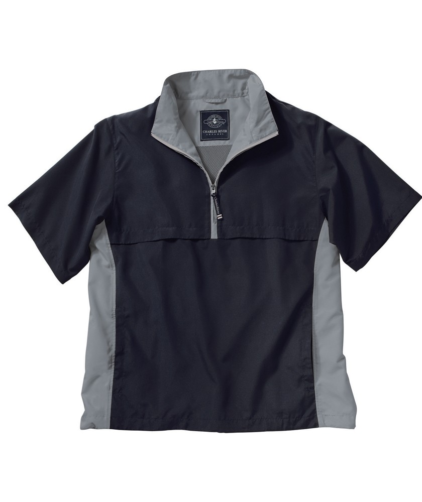 Charles River 9843 - Ace Short Sleeve Windshirt