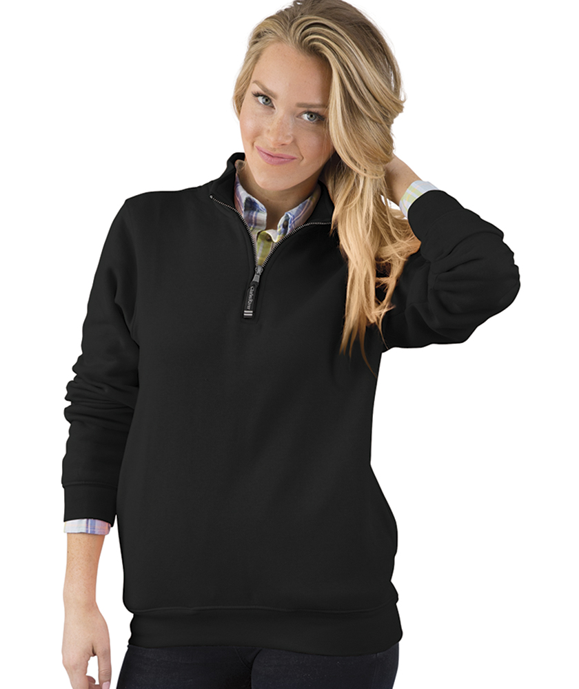 Charles River 9359 - Crosswind Quarter Zip Sweatshirt